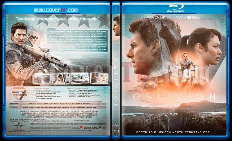 Oblivion - Custom Bluray Cover - English [2013]-1jpg