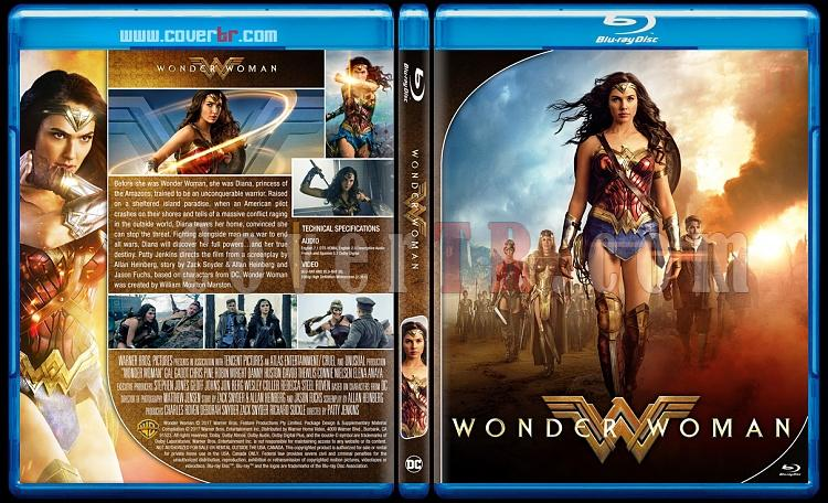 Wonder Woman - Custom Bluray Cover - English [2017]-1jpg