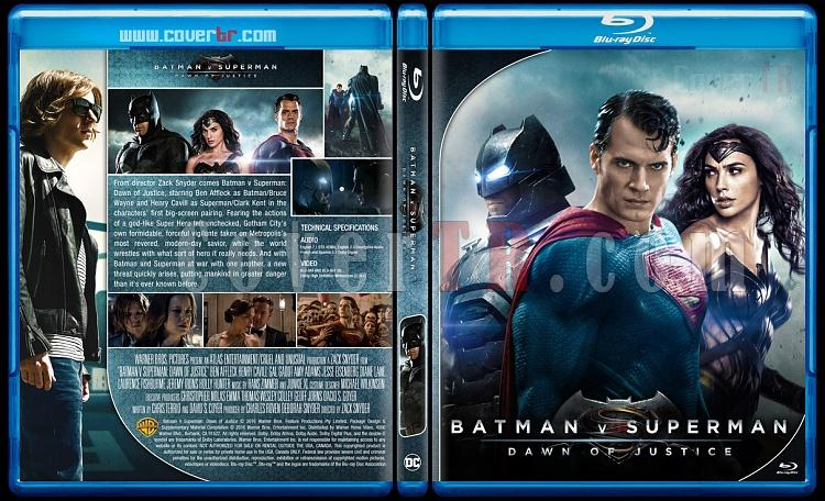 Batman v Superman: Dawn of Justice - Custom Bluray Cover - English [2016]-1jpg