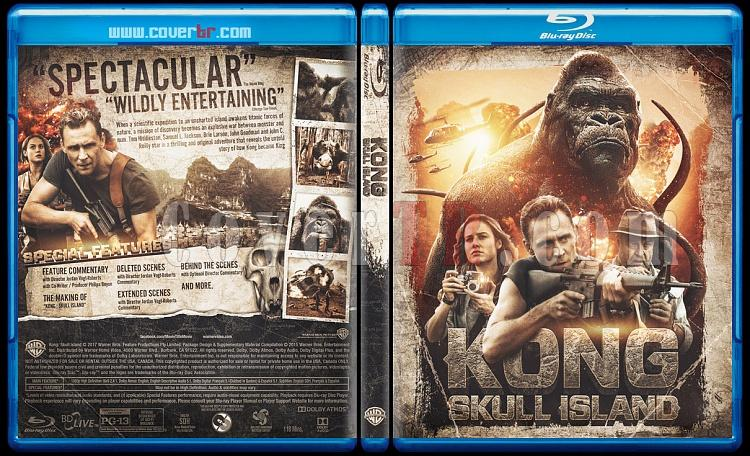 Kong: Skull Island - Custom Bluray Cover - English [2017]-blu-ray-1-disc-flat-3173x1762-11mmjpg