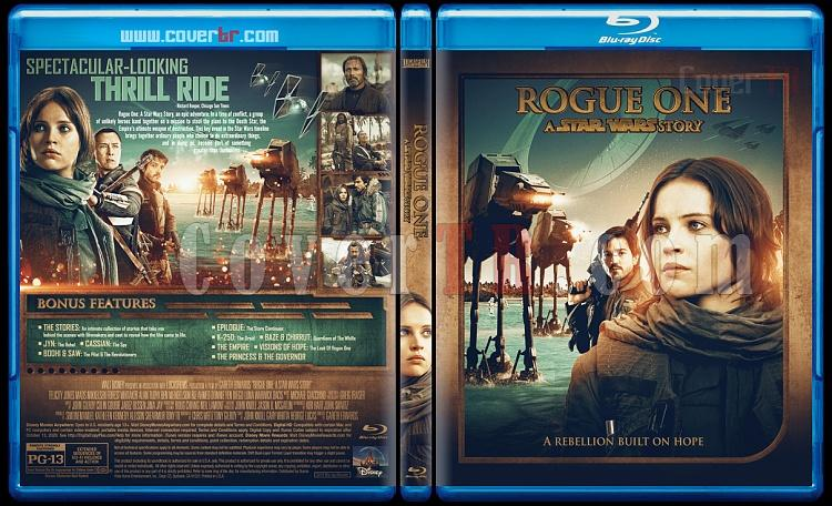Rogue One: A Star Wars Story - Custom Bluray Cover - English [2016]-preview1jpg