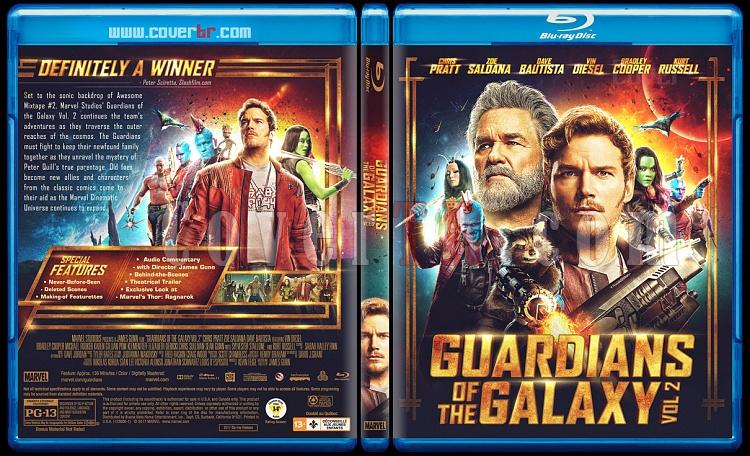 Guardians of the Galaxy Vol. 2 - Custom Bluray Cover - English [2017]-1jpg