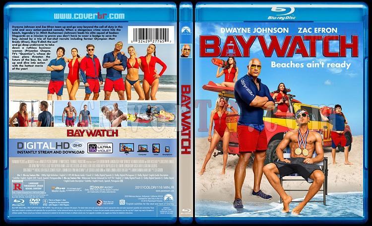 Baywatch (Sahil Güvenlik) - Custom Bluray Cover - English [2017]-2jpg