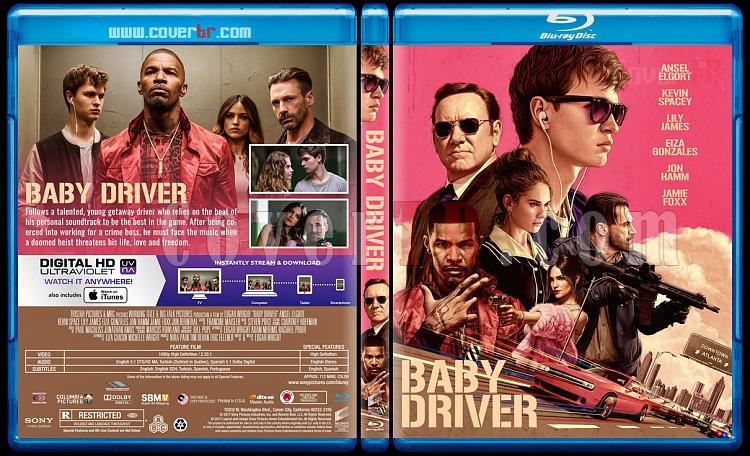Baby Driver (Tam Gaz) - Custom Bluray Cover - English [2017]-1jpg