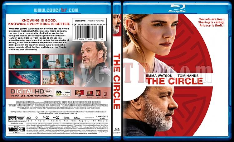 The Circle (Çember) - Custom Bluray Cover - English [2017]-1jpg