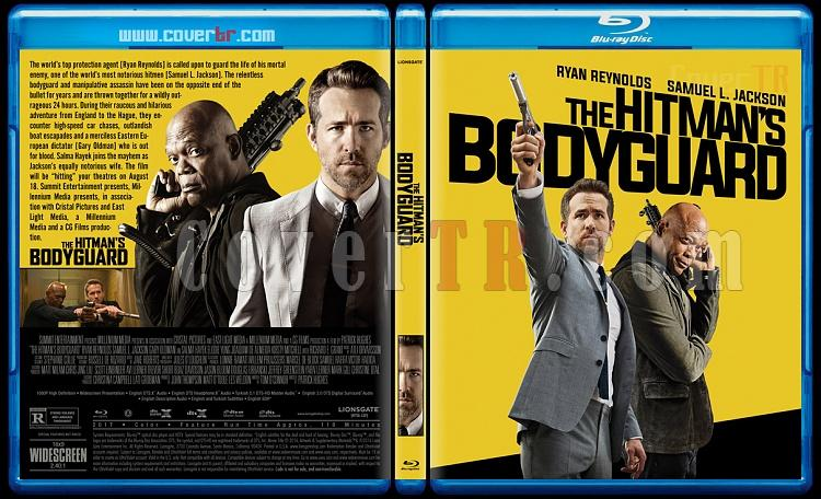 The Hitman's Bodyguard - Custom Bluray Cover - English [2017]-2jpg
