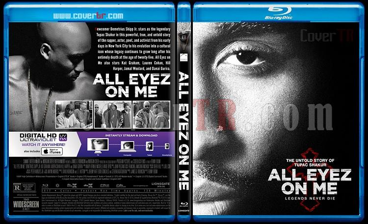 All Eyez on Me - Custom Bluray Cover - English [2017]-3jpg