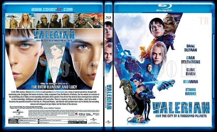 Valerian and the City of a Thousand Planets (Valerian ve Bin Gezegen İmparatorluğu) - Custom Bluray Cover - English [2017]-4jpg