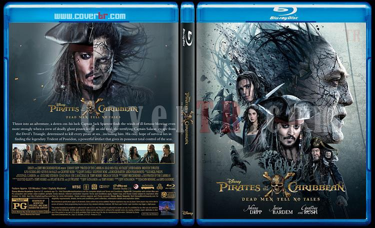 Pirates of the Caribbean: Dead Men Tell No Tales (Karayip Korsanları 5: Salazar'ın İntikamı) - Custom Bluray Cover - English [2017]-2jpg