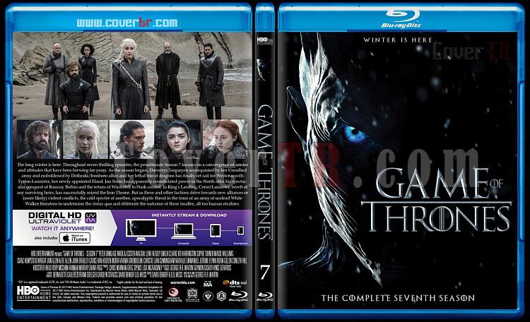 Game of Thrones (Season 7) - Custom Bluray Cover - English [2017]-1jpg