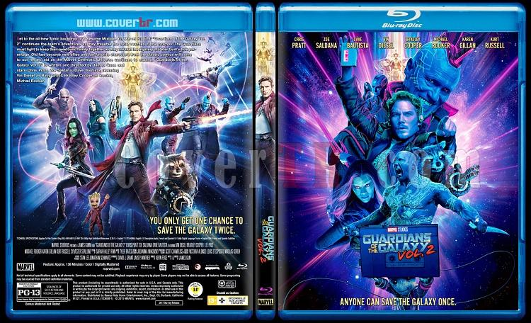 Guardians of the Galaxy Vol. 2 (Galaksinin Koruyucuları 2) - Custom Bluray Cover - English [2017]-3jpg