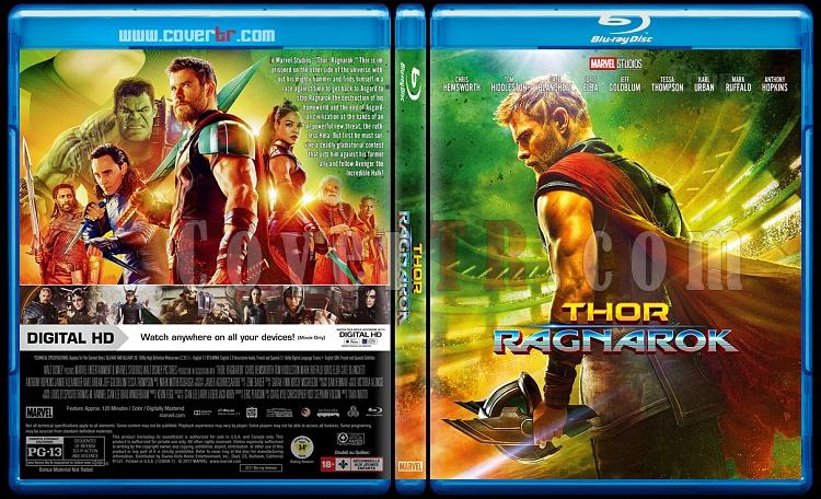 Thor 3: Ragnarok - Custom Bluray Cover - English [2017]-0jpg