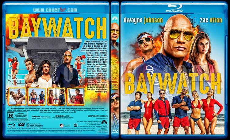 Baywatch - Custom Bluray Cover - English [2017]-sdadasjpg