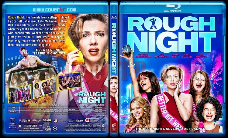 Rough Night - Custom Bluray Cover - English [2017]-2jpg