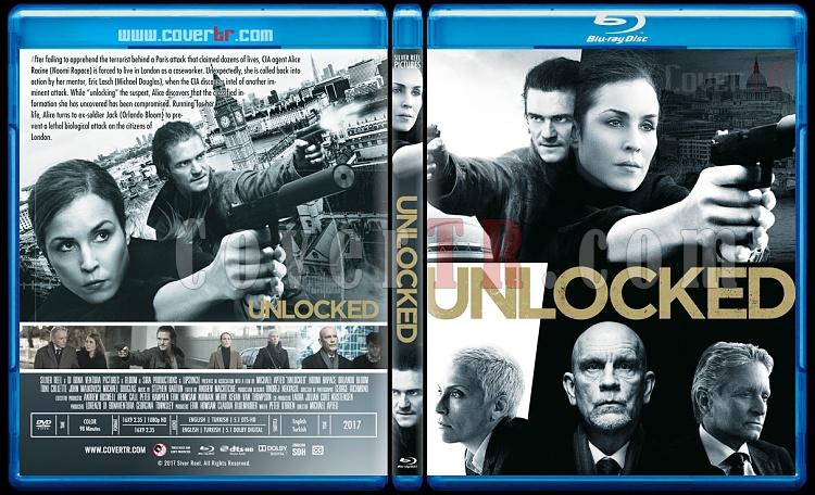 Unlocked (Gizli Kod) - Custom Bluray Cover - English [2017]-2jpg