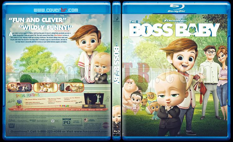 The Boss Baby - Custom Bluray Cover - English [2017]-1jpg