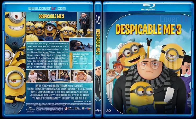 Despicable Me 3 - Custom Bluray Cover - English [2017]-2jpg