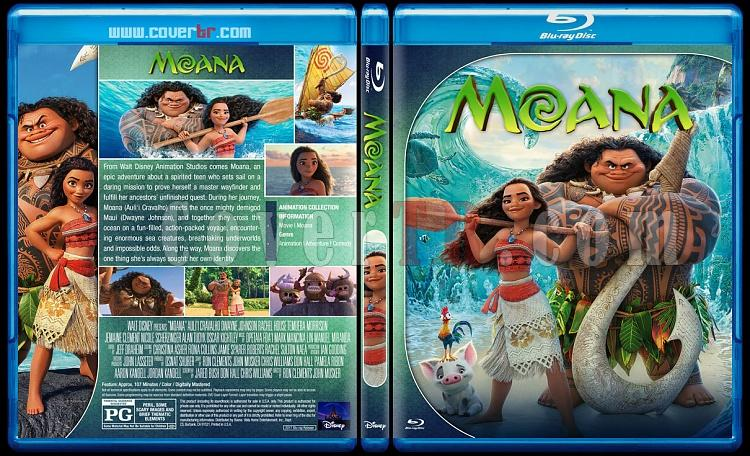 Moana - Custom Bluray Cover - English [2016]-3jpg