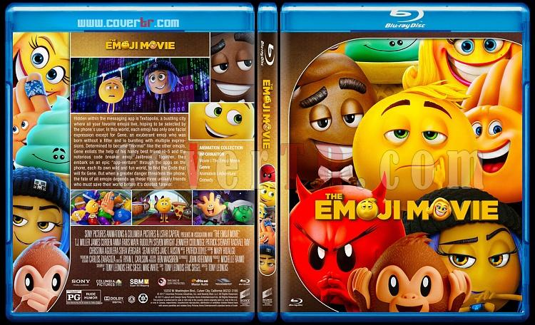 The Emoji Movie - Custom Bluray Cover - English [2017]-5jpg