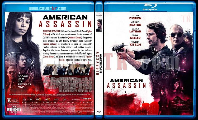 American Assassin (Suikastçı) - Custom Bluray Cover - English [2017]-1jpg