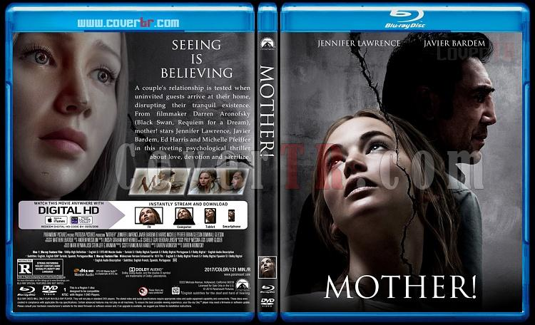 Mother! (Anne!) - Custom Bluray Cover - English [2017]-1jpg
