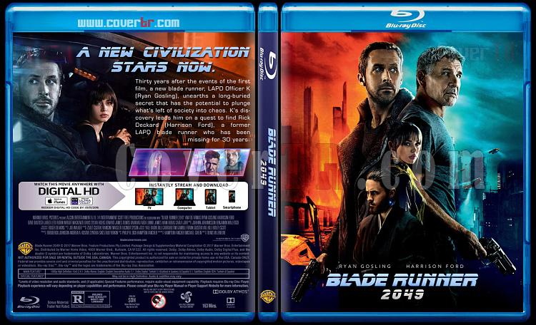 Blade Runner 2049 - Custom Bluray Cover - English [2017]-2jpg