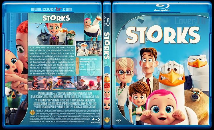 Storks - Custom Bluray Cover - English [2016]-1jpg