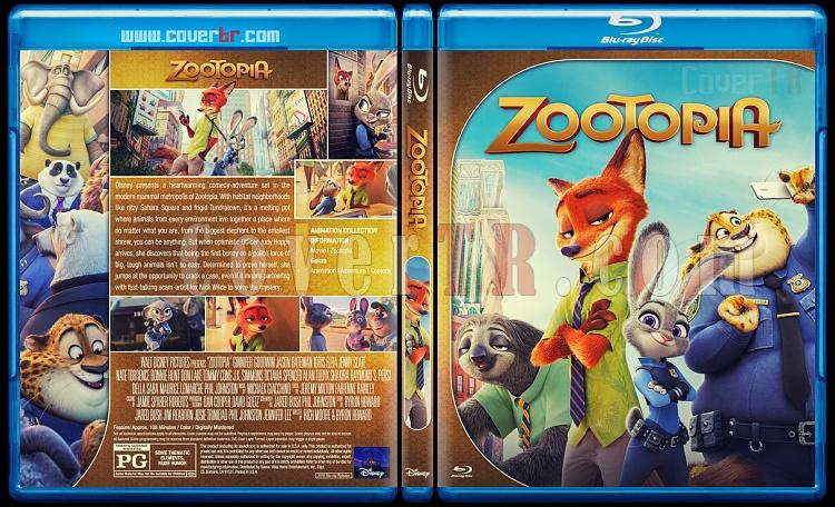 Zootopia - Custom Bluray Cover - English [2016]-2jpg