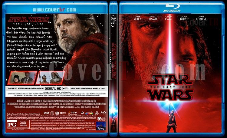 Star Wars: The Last Jedi - Custom Bluray Cover - English [2017]-1jpg