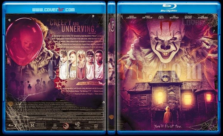 It (O) - Custom Bluray Cover - English [2017]-1jpg