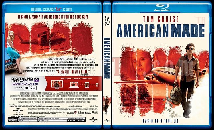 American Made (Barry Seal: Kaçakçı) - Custom Bluray Cover - English [2017]-1jpg