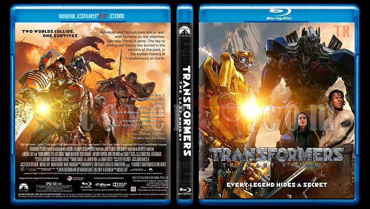 Transformers The Last Knight - Custom Bluray Cover - English [2017]-1jpg