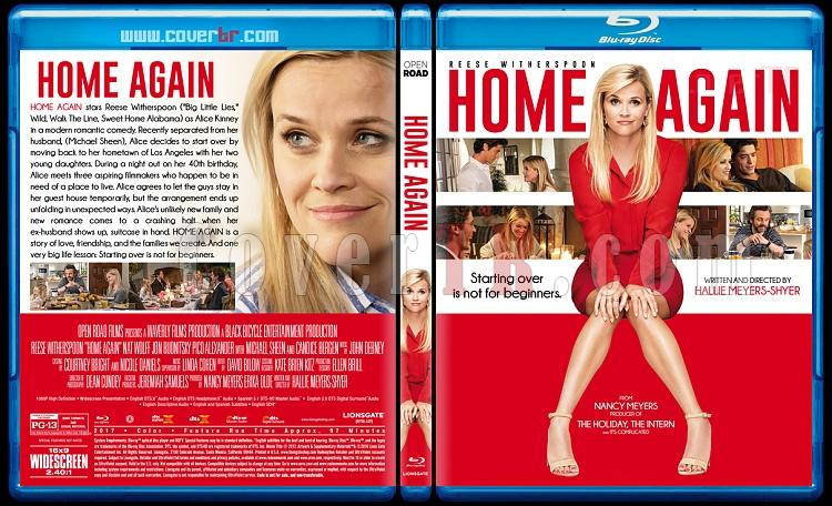 Home Again (Evdeki Aşklarım) - Custom Bluray Cover - English [2017]-1jpg