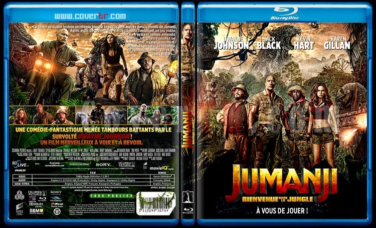 Jumanji: Welcome to the Jungle (Jumanji : Bienvenue dans la jungle) - Custom Bluray Cover - French [2017]-jumanji11mmjpg