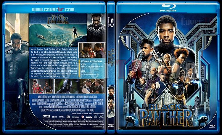 Black Panther - Custom Bluray Cover - English [2018]-1jpg
