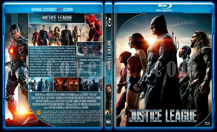 Justice League - Custom Bluray Cover - English [2017]-2jpg