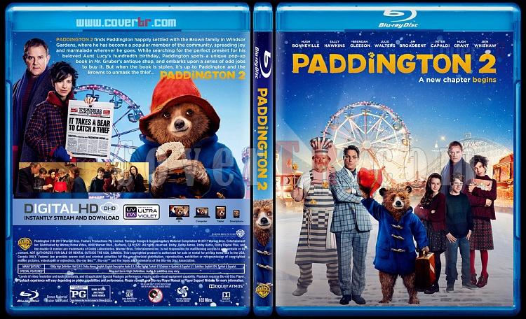 Paddington 2 (Ayı Paddington 2) - Custom Bluray Cover - English [2017]-2jpg