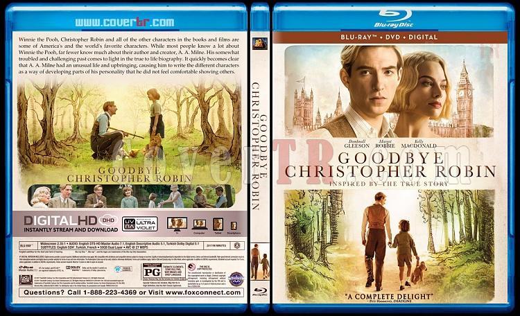 Goodbye Christopher Robin - Custom Bluray Cover - English [2017]-3jpg