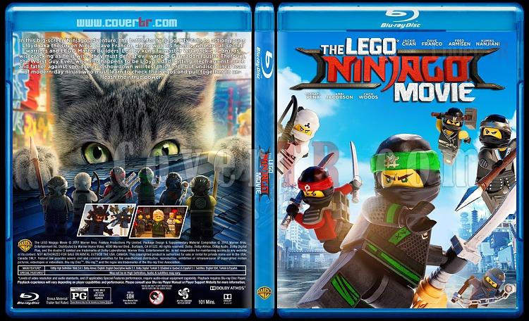 The Lego Ninjago Movie (The Lego Ninjago Filmi) - Custom Bluray Cover - English [2017]-1jpg
