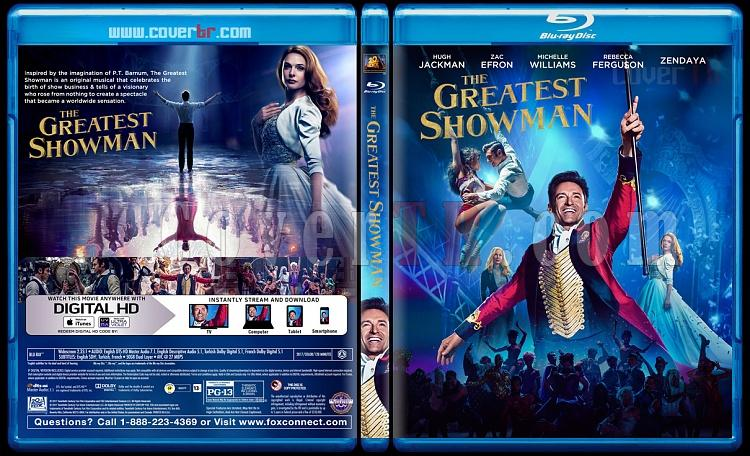 The Greatest Showman (Muhteşem Showman) - Custom Bluray Cover - English [2017]-1jpg