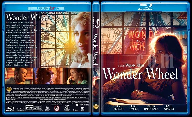 Wonder Wheel (Dönme Dolap) - Custom Bluray Cover - English [2017]-1jpg