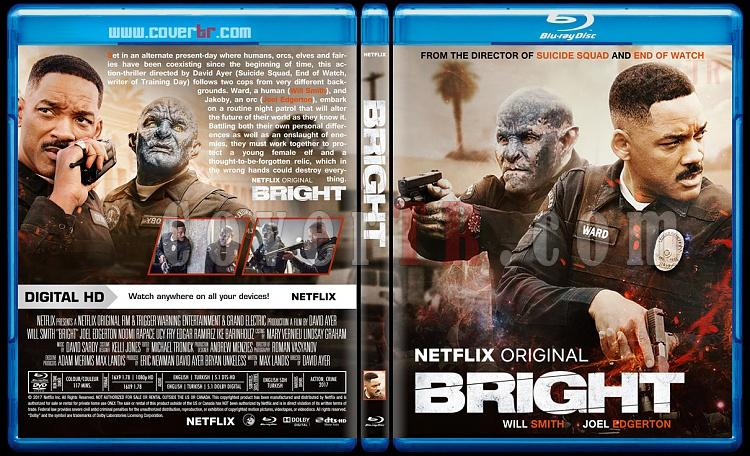 Bright - Custom Bluray Cover - English [2017]-1jpg