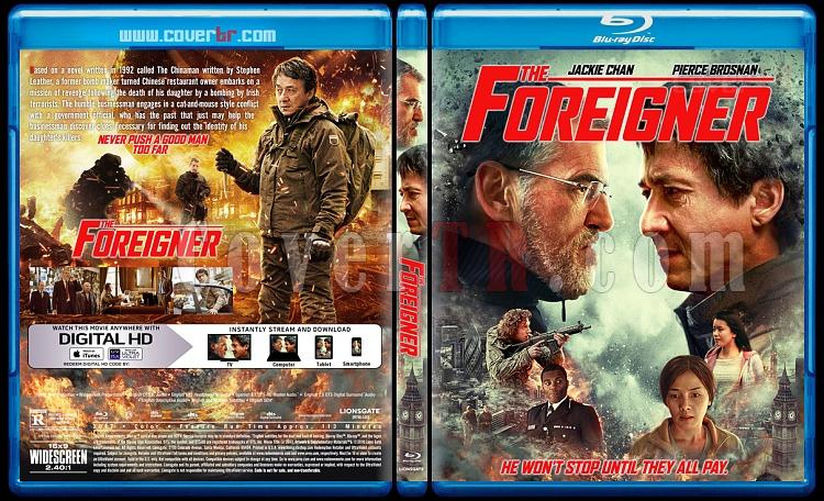 The Foreigner (İntikam) - Custom Bluray Cover - English [2017]-1jpg
