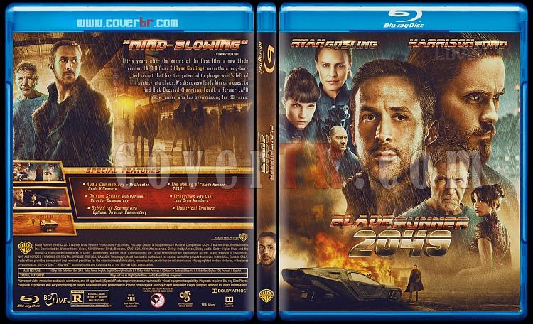 Blade Runner 2049 - Custom Bluray Cover - English [2017]-1jpg