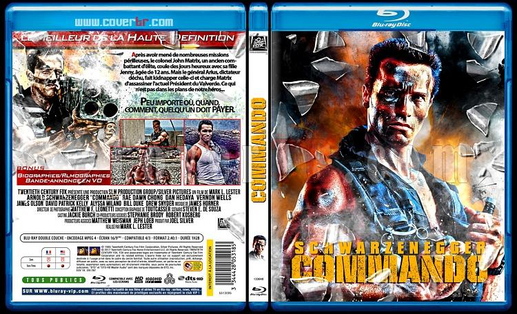 Commando- Custom Bluray Cover - French [1994]-blu-ray-1commando-11mmjpg