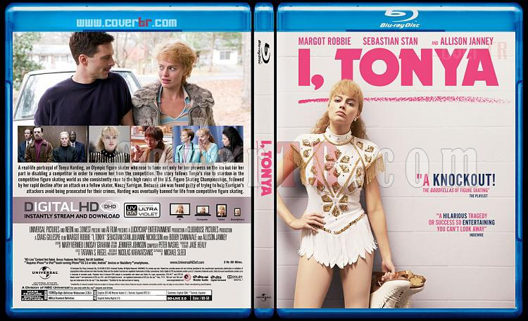 I, Tonya - Custom Bluray Cover - English [2017]-1jpg