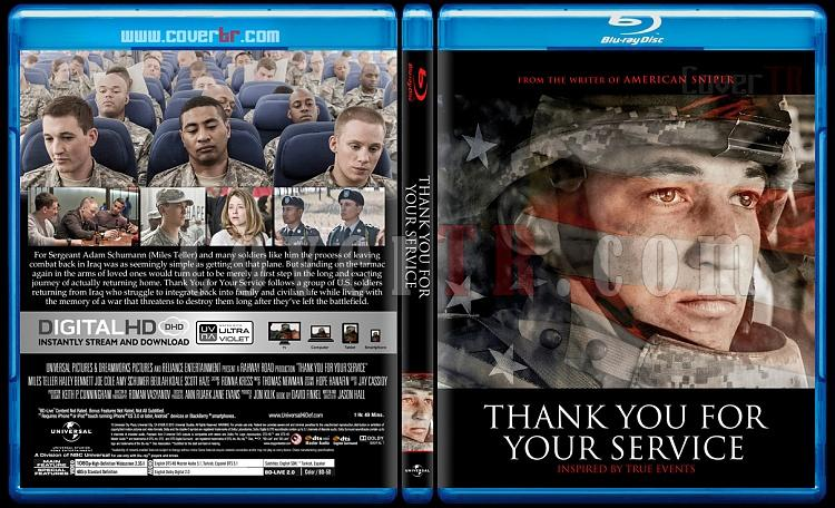 Thank You for Your Service - Custom Bluray Cover - English [2017]-1jpg