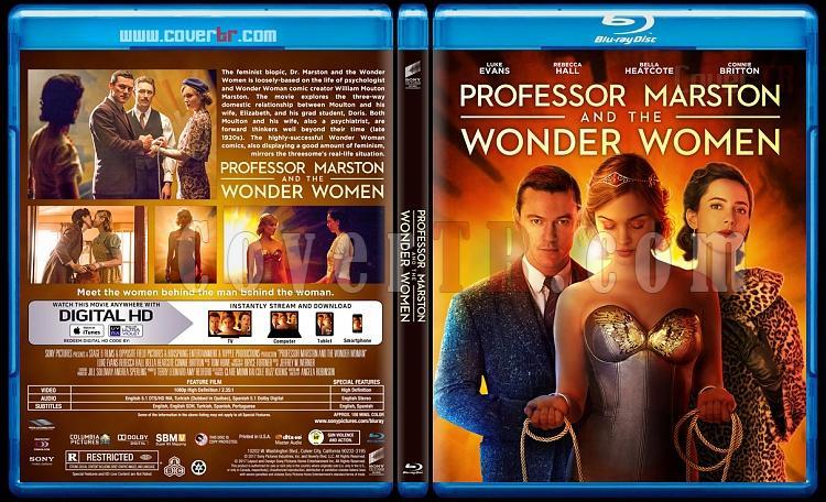 Professor Marston and the Wonder Women - Custom Bluray Cover - English [2017]-1jpg
