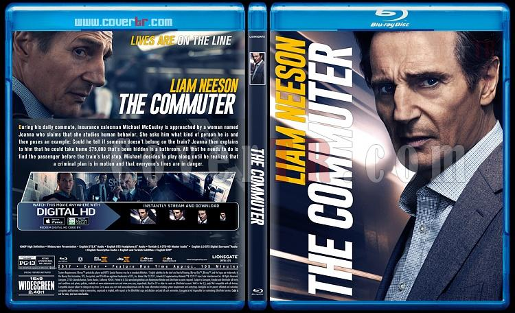 The Commuter (Yolcu) - Custom Bluray Cover - English [2018]-4jpg