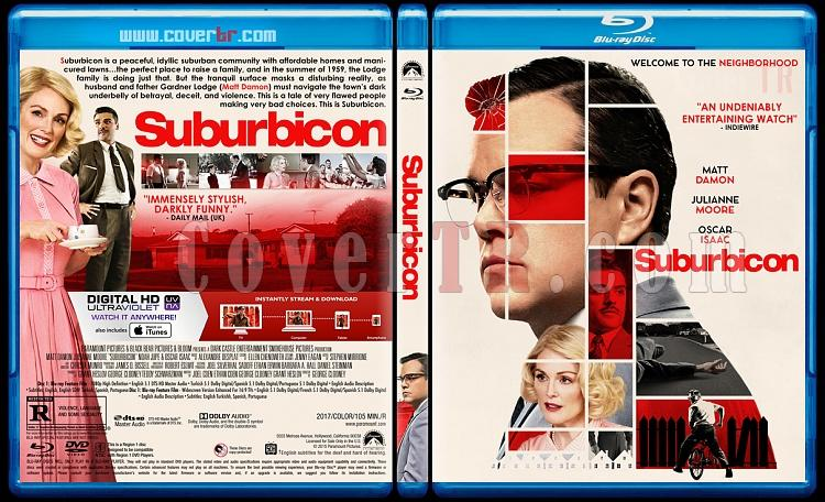 Suburbicon - Custom Bluray Cover - English [2017]-2jpg